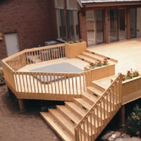 Port Orford - White Cedar Decking
