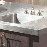 Revere Sink   Stainless Steel Countertops
